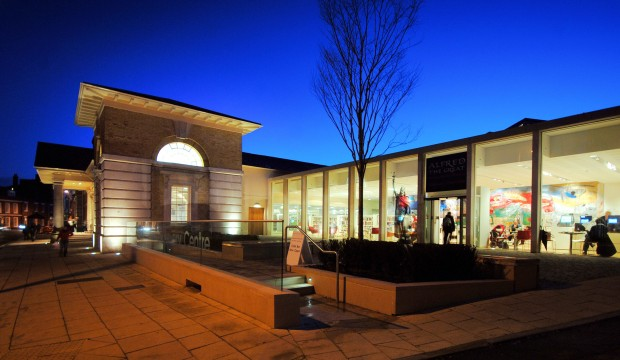 Exteriror: Winchester Discovery Centre