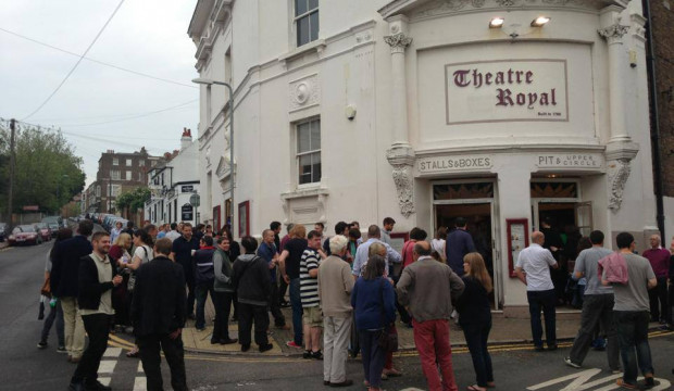 Exteriror: Theatre Royal Margate