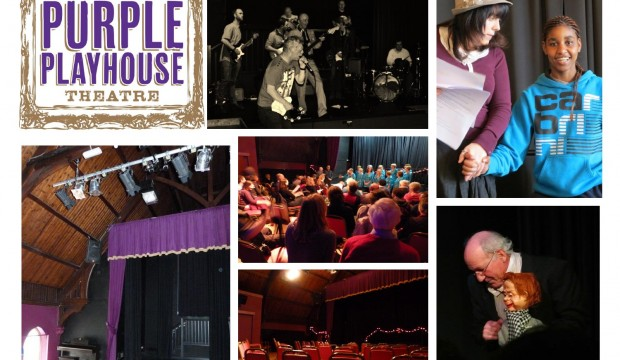 The Purple Playhouse Theatre