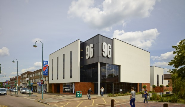 Exteriror: 96 Shenley Road – Theatre and Cinema
