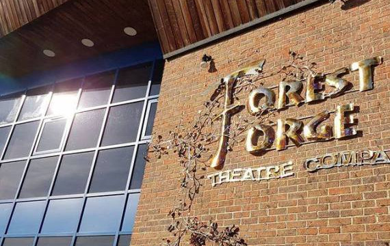 Exteriror: Forest Forge Theatre