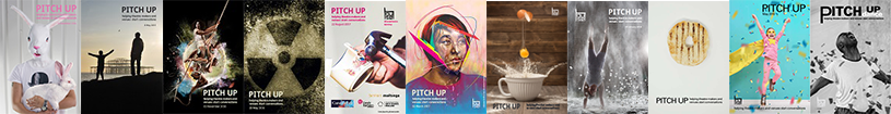 pitch up brochure banner