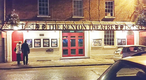 Exteriror: The Kenton Theatre
