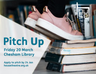 Announcing theatre-makers for pitch up libraries