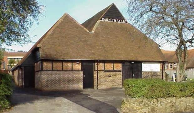 Exteriror: Barn Theatre, Oxted