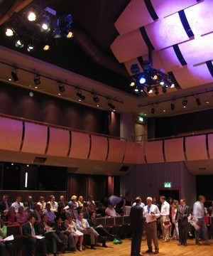 Auditorium: Birley Centre and College Theatre