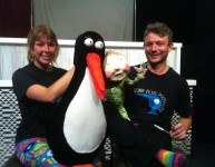 On tour with Penguin
