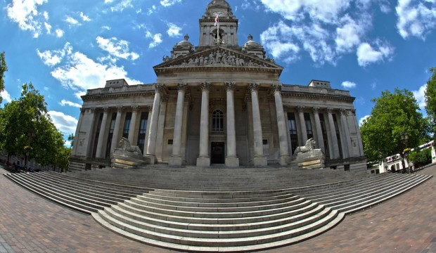 Exteriror: Portsmouth Guildhall
