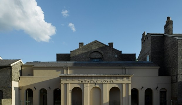 Exteriror: Theatre Royal Bury St Edmunds