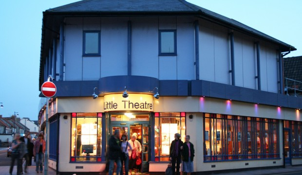 Exteriror: Sheringham Little Theatre
